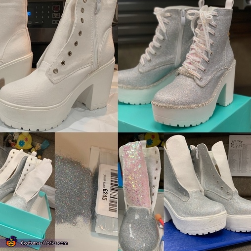 Shoes In the Making, Unicorn Twinsies Costume