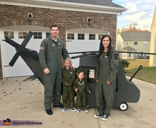 United States Army Black Hawk Pilots Costume