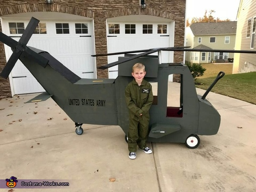 My nephew wants to be just like his daddy!, United States Army Black Hawk Pilots Costume
