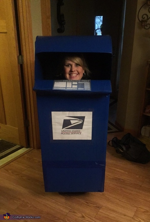 Post Box, United States Postal Service Costume
