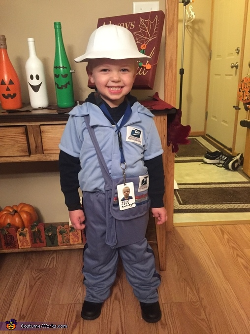 Letter carrier, United States Postal Service Costume