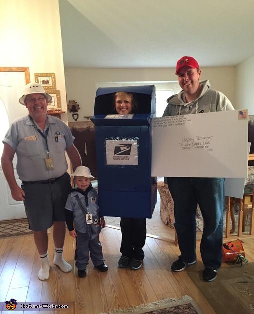 United States Postal Service Costume