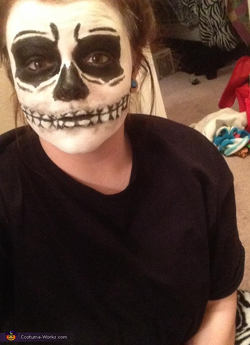 Unknown Skeleton Costume