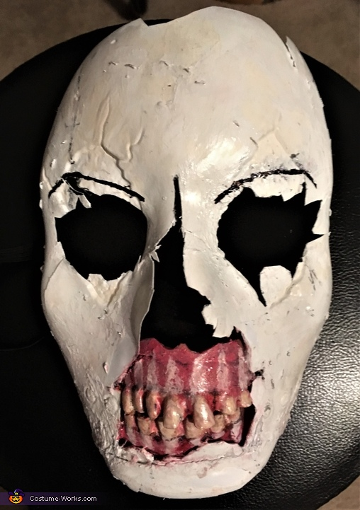 Until Dawn Psycho Homemade Costume