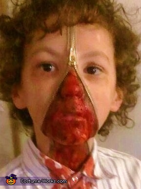 Unzipped Zipperface Costume
