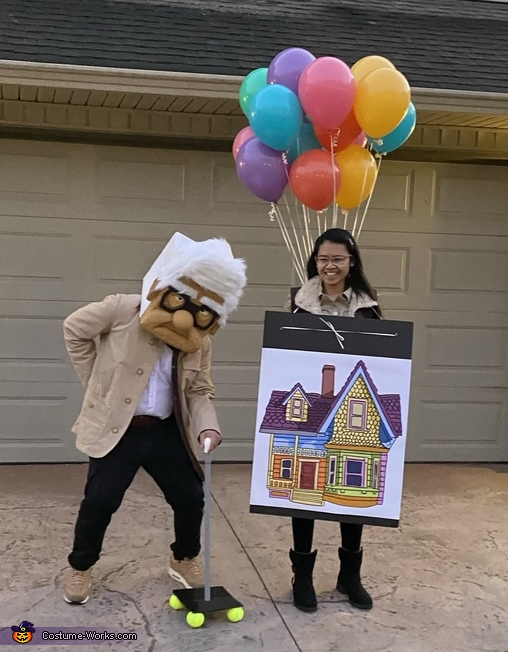 Husband and Wife Photo - UP, UP Costume