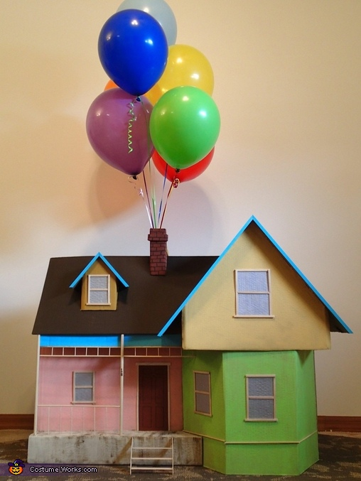 The Up house, Russell and Carl from the movie Up Dogs Costume