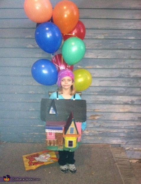 Up up and Away - Homemade costumes for kids