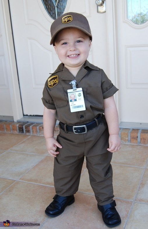 UPS Delivery Man Baby Costume