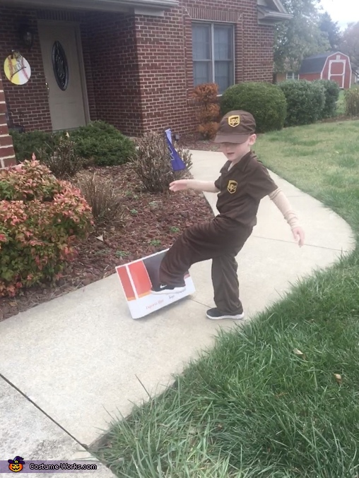 And more, UPS Delivery Man Costume