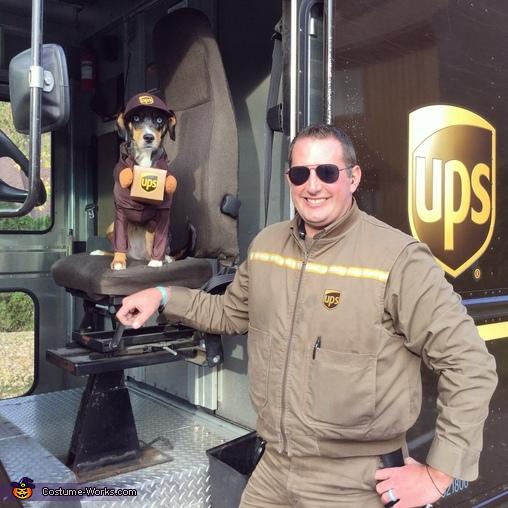 UPS Helper Costume