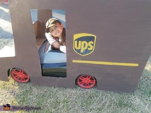 UPS Truck Driver Costume