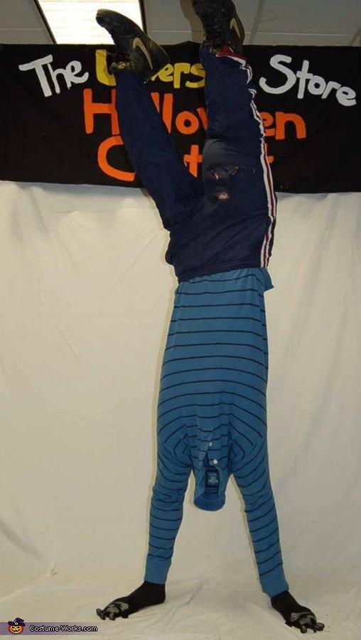 Upside Down Guy Costume