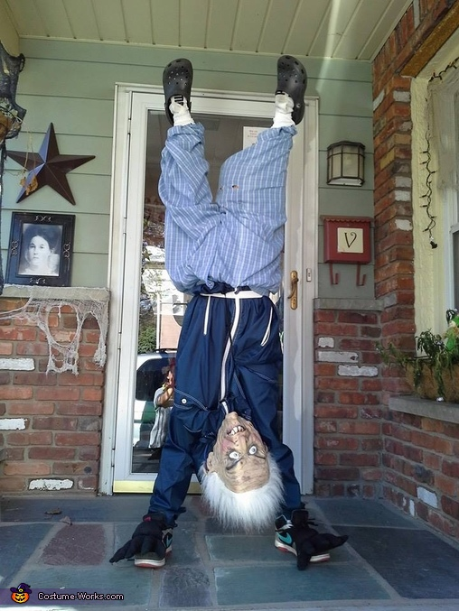 Upside Down Old Man Costume