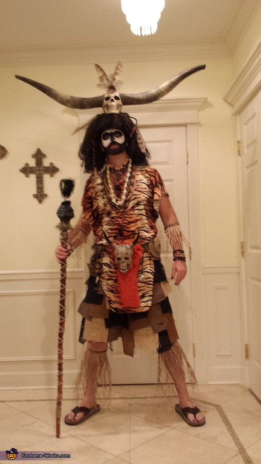 Urban Voodoo Homemade Costume