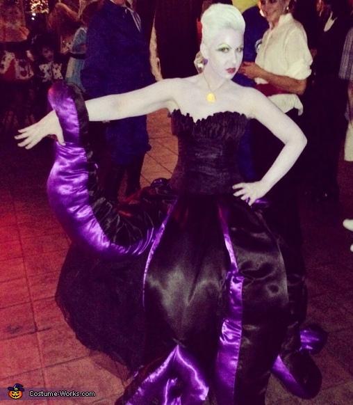Ursula Homemade Halloween Costume