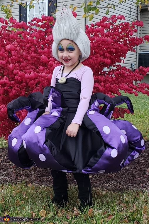 Ursula Homemade Costume