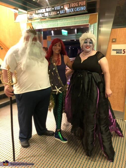 Ursula, King Triton, and Ariel, Ursula Costume