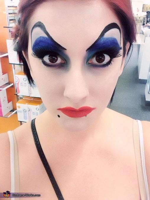Creative Homemade Ursula Costume