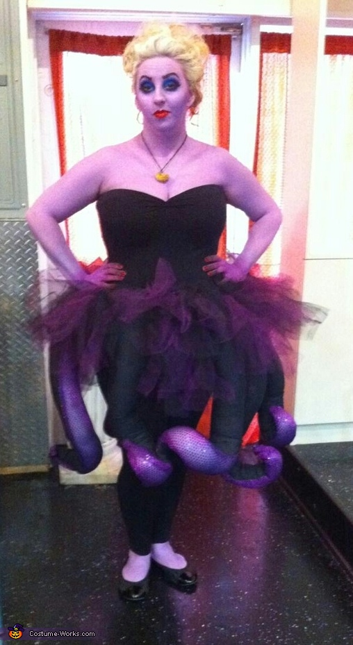 DIY Ursula Costume