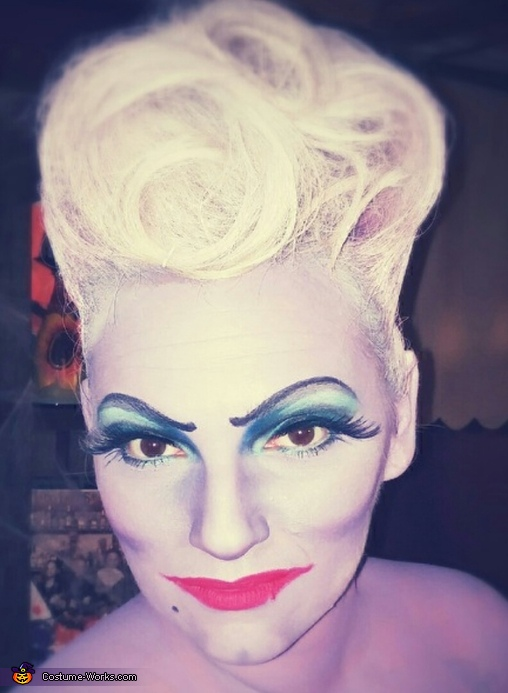 head shot, Ursula Costume