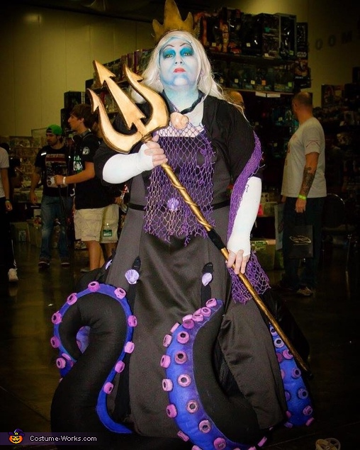 Sea Witch Costume Ideas Original Homemade Ursu...