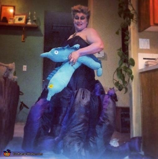 Poor unfortunate soul!, Ursula Costume