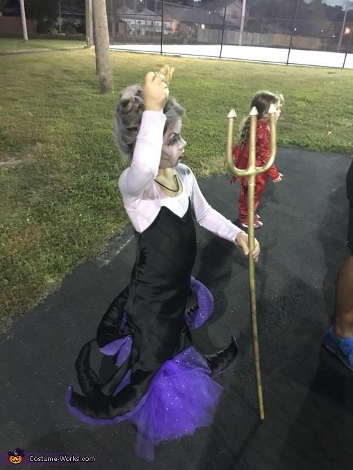 Girl's Ursula Costume