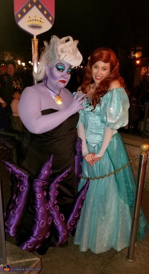Ursula stealing Ariel's voice, Ursula Costume