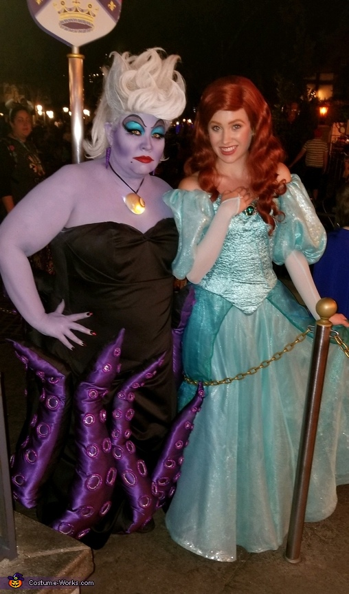 Ursula charming Ariel, Ursula Costume