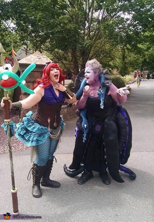 Ursula and Steampunk Ariel Costume