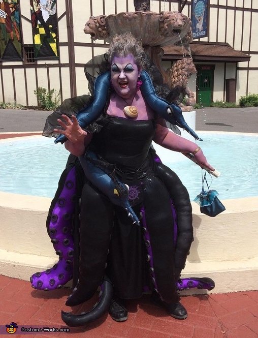 Ursula, witch of the sea, Ursula and Steampunk Ariel Costume