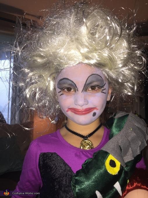 Ursula Girl Homemade Costume
