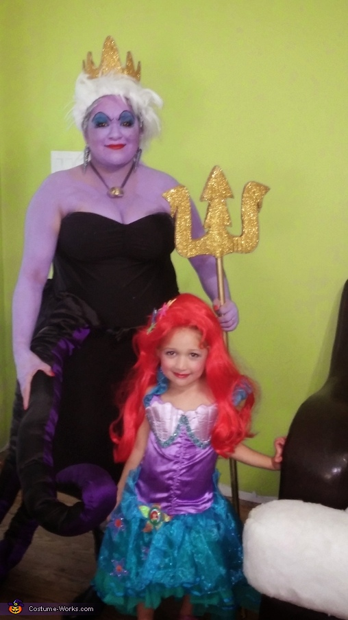 Ursula & Litttle Mermaid Costume