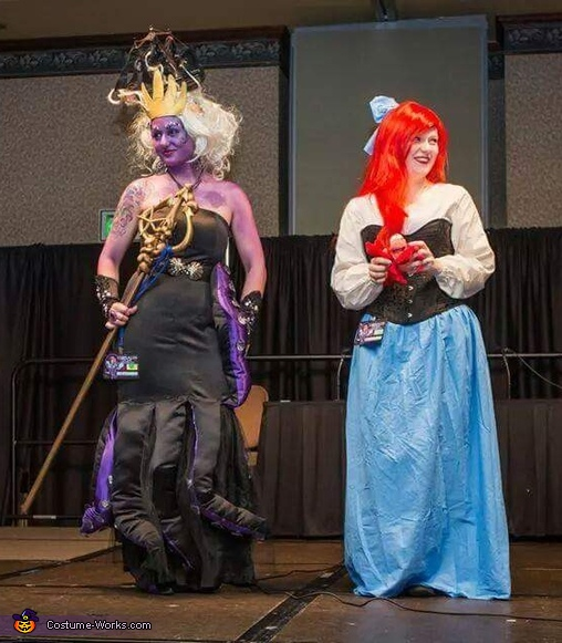Ursula: Sea Witch Homemade Costume