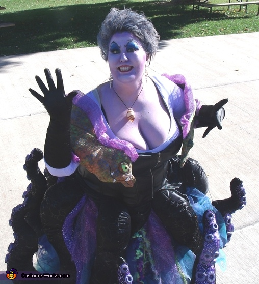 Ursula The Sea Witch 2014, Ursula The Sea Witch Costume