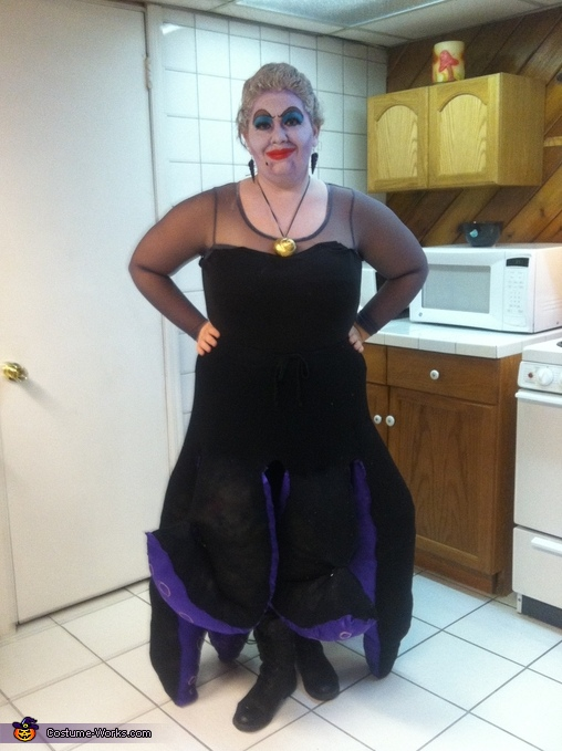 Finished product., Ursula the Sea Witch Costume