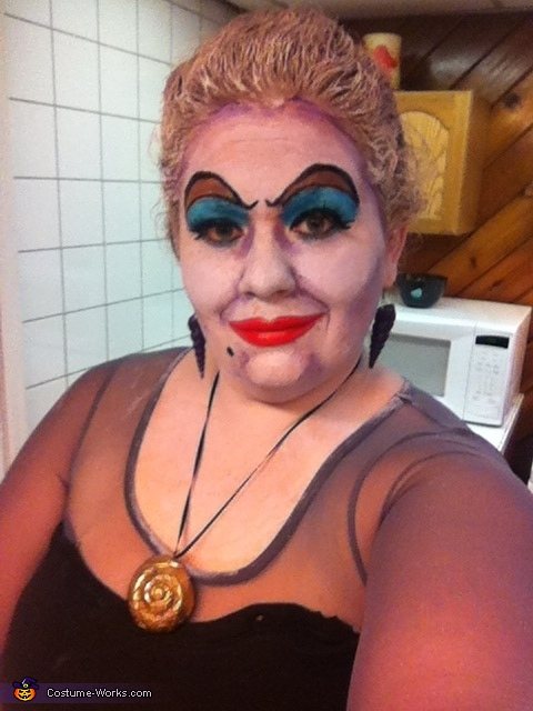 Sea witch selfie!, Ursula the Sea Witch Costume