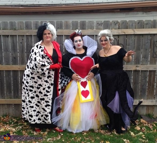 The group picture. , Ursula the Sea Witch Costume