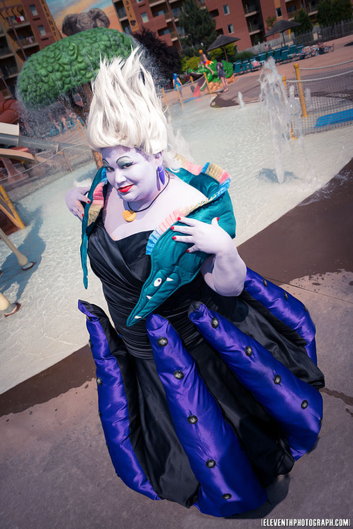 Photo by Eleventh Photography, Ursula the Sea Witch Costume