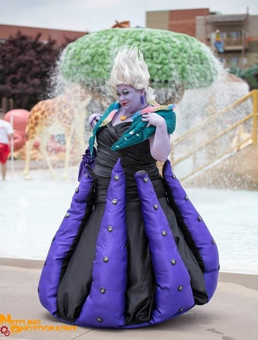 Photo by Neitling Photography, Ursula the Sea Witch Costume