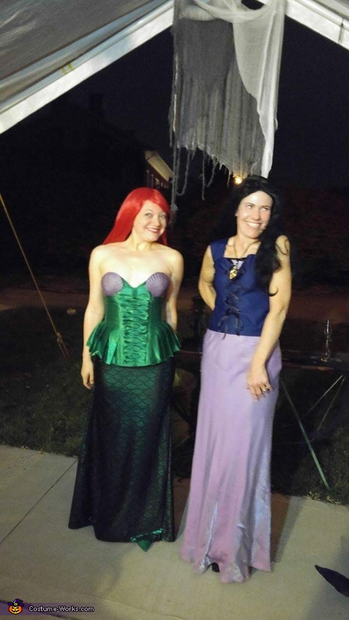 Ariel & Vanessa, Ursula, Vanessa & Ariel Costume