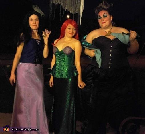 Vanessa, Ariel, & Ursula, Ursula, Vanessa & Ariel Costume