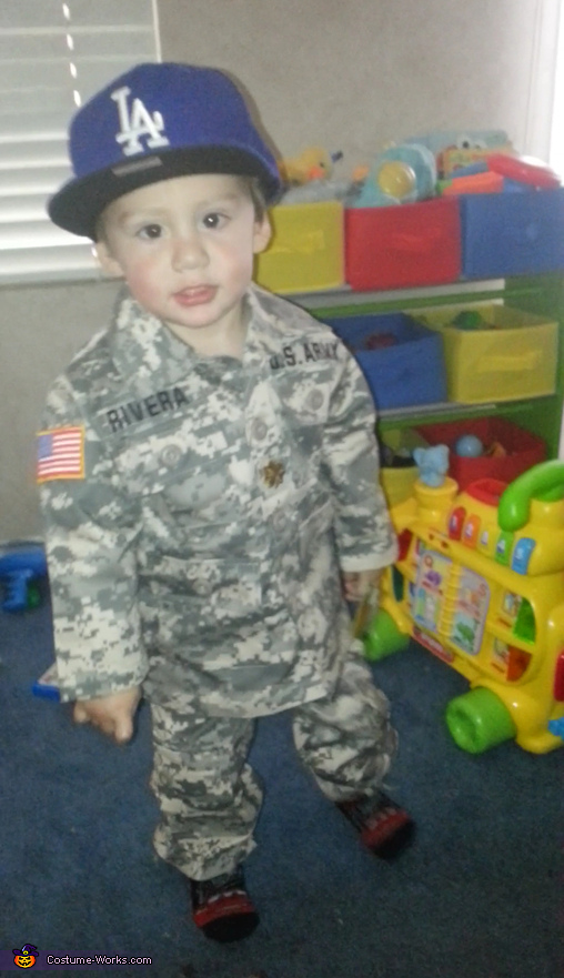 U.S. Army Soldier Baby Costume