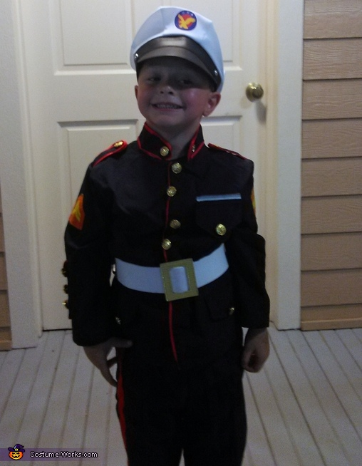 Houston Marine 2015, US Marine Costume