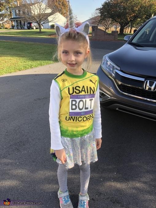 Usain Bolt Costume
