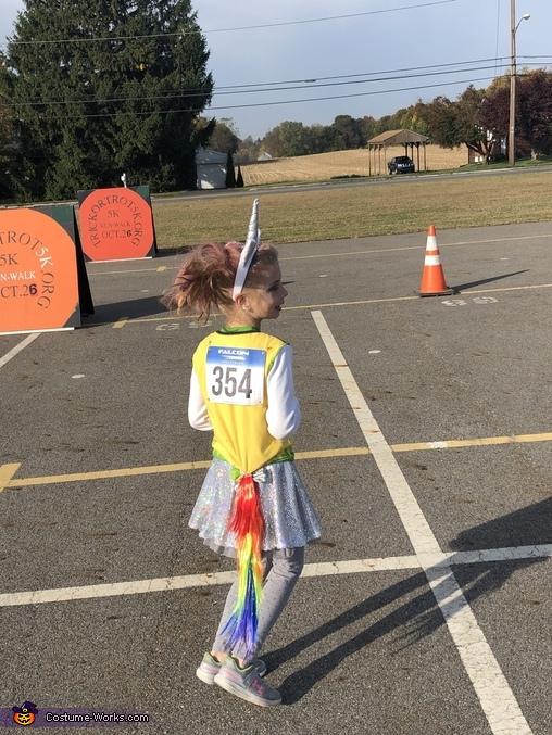 Usain Bolt Homemade Costume