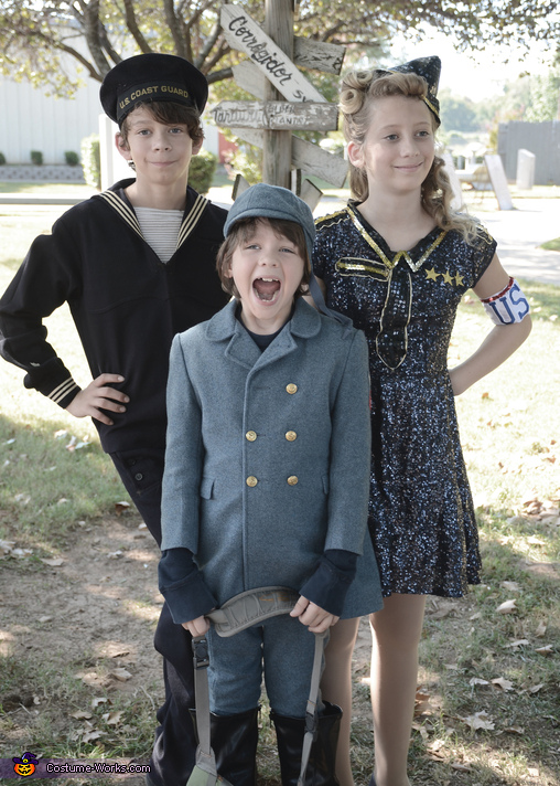 USO Style, USO WWII Family Costume