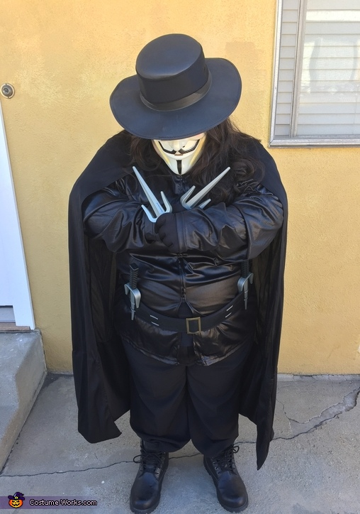 v for vendetta costume photo 23
