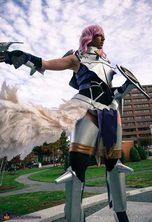 Valkyrie Lightning Homemade Costume